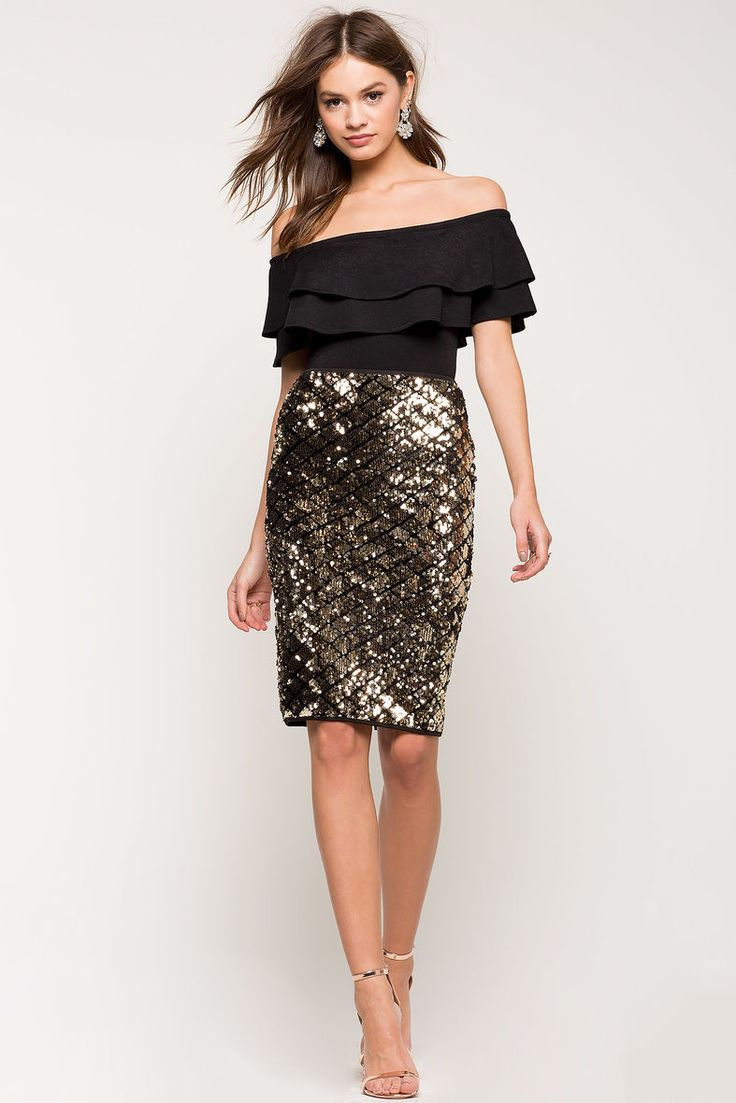 25  best ideas about Sequin pencil skirt on Pinterest | Atlantic ...