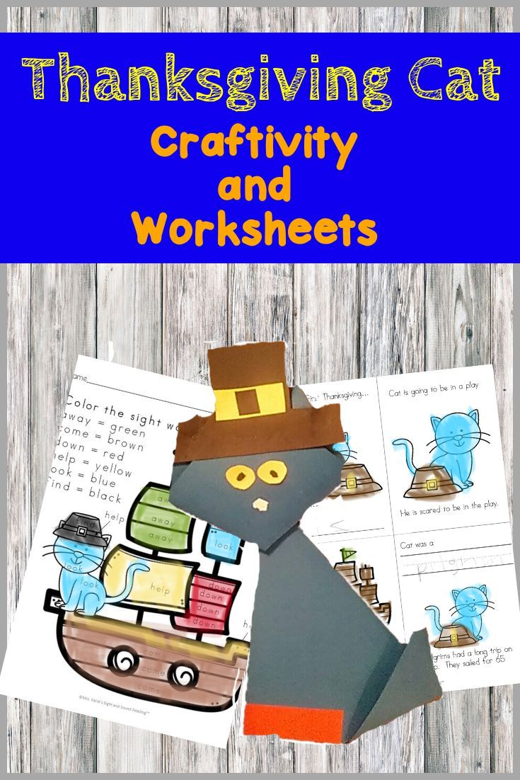This Is A Fun Activity To Do For Kindergarten Thanksgiving Lesson Make Craft And Follow Up With More Educational