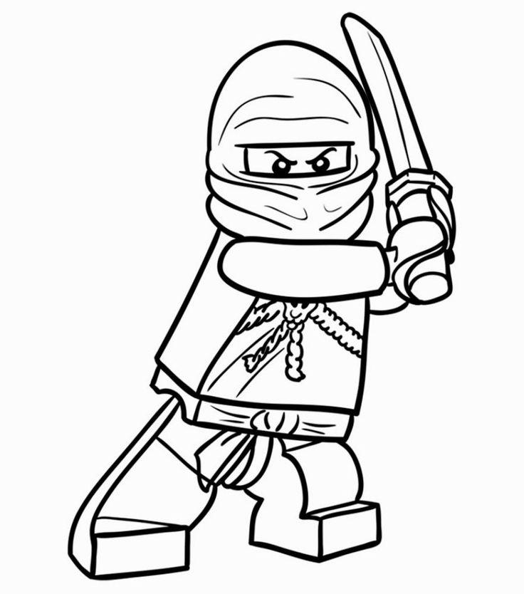 Lego Ninjago Malvorlage