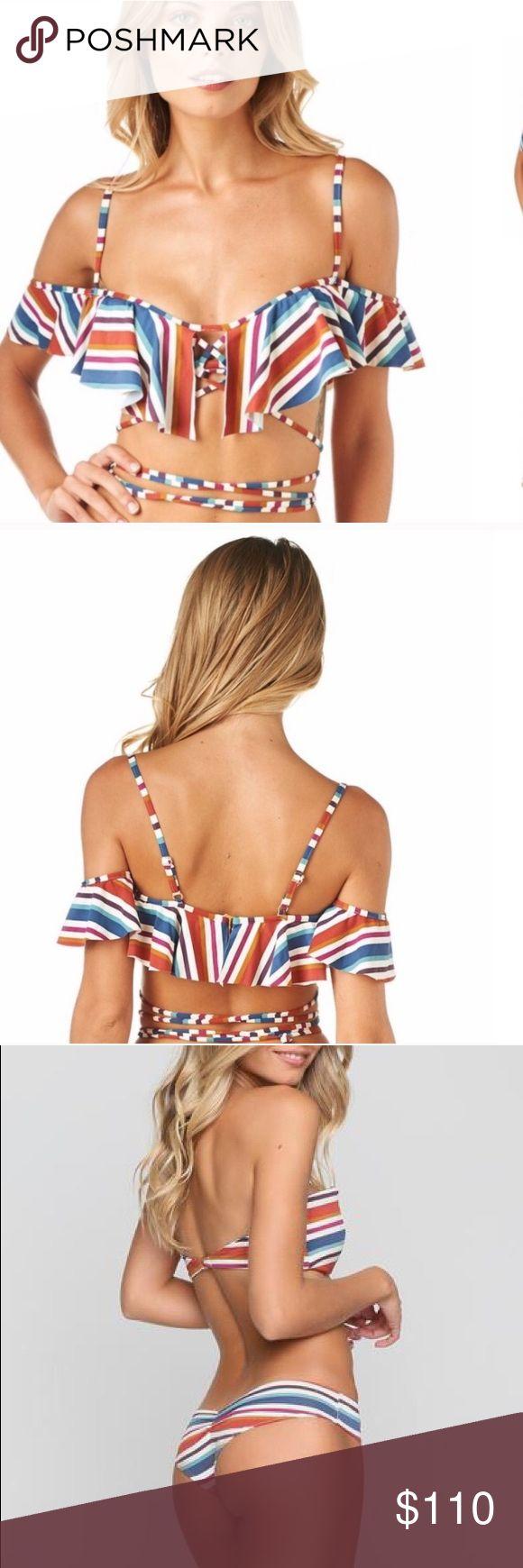 Montce 70's Stripe La Calletta Nu Micro Bikini Set Montce 70's Stripe La Cal…