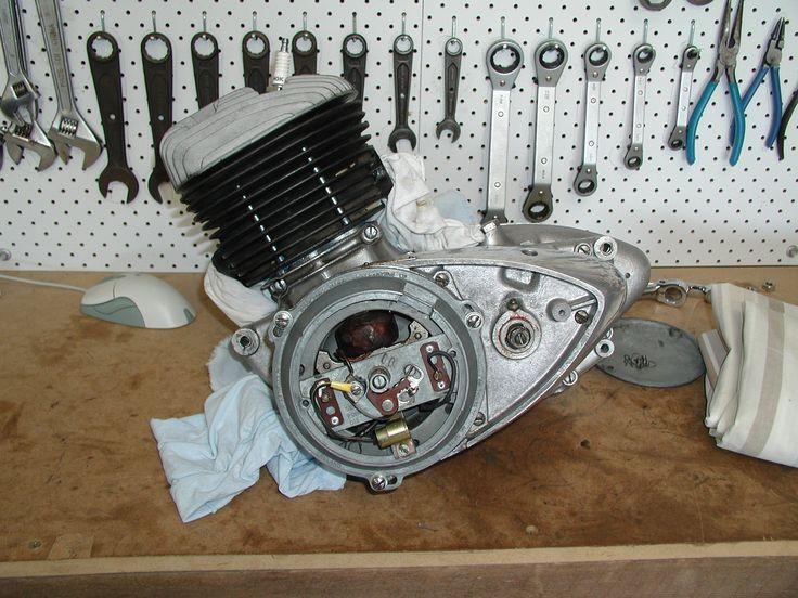 bsa engine | MY D7 RESTORATION - IN BRIEF
