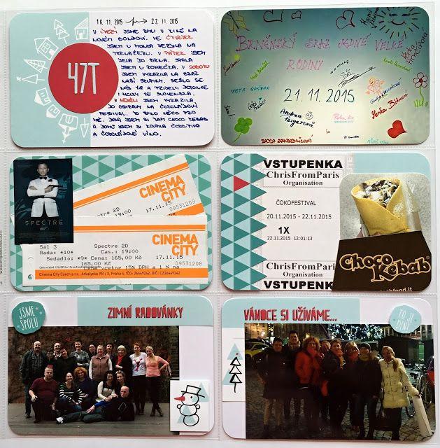 Project life 2015 - 47. týden | RadkArt