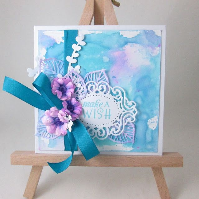 Hand-Crafted by Gabi M.: {TUTORIAL} Wax Aquarell od Koh-i-noor - co s nimi?
