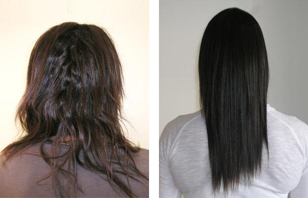 #yuko #hair #straightening #beforeandafter