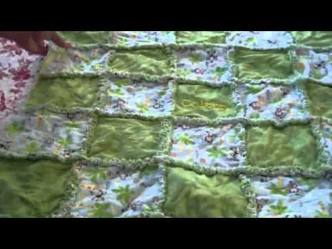 I hope you enjoyed this rag quilt tutorial, please rate comment, and subscribe! If you have any questions, please leave them here.    Produced with CyberLink PowerDirector