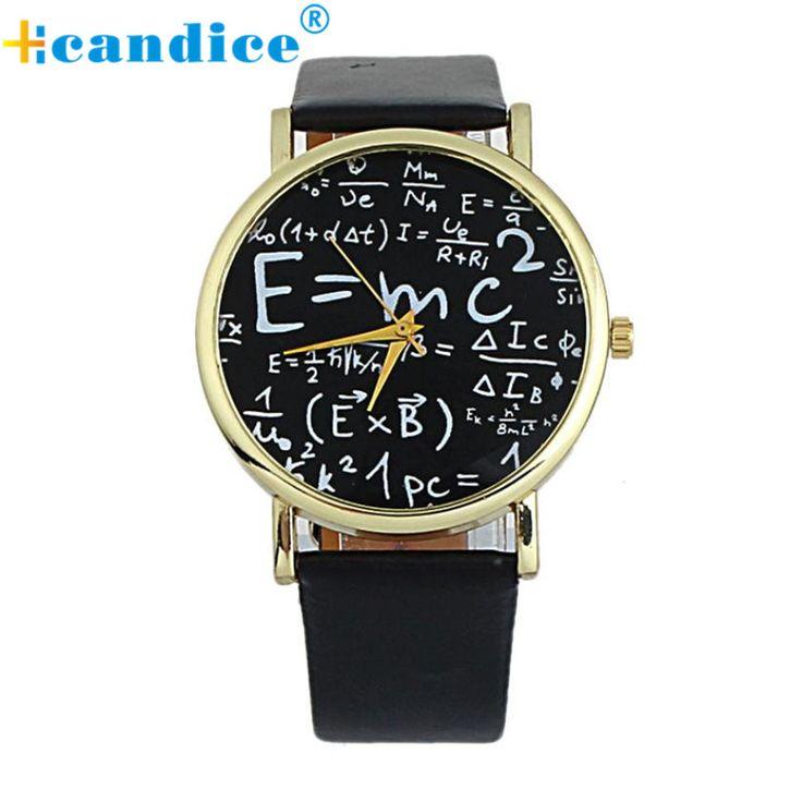 $1.64 (Buy here: https://alitems.com/g/1e8d114494ebda23ff8b16525dc3e8/?i=5&ulp=https%3A%2F%2Fwww.aliexpress.com%2Fitem%2F2016-Luxury-Einstein-E-MC2-Equation-Mathematical-Formula-Math-Symbols-Faux-Leather-Analog-Quartz-Watch-Watch%2F32613455167.html ) 2017 Luxury Einstein E=MC2 Equation Mathematical Formula Math Symbols Faux Leather Analog Quartz Watch Watch Wristwatch for just $1.64