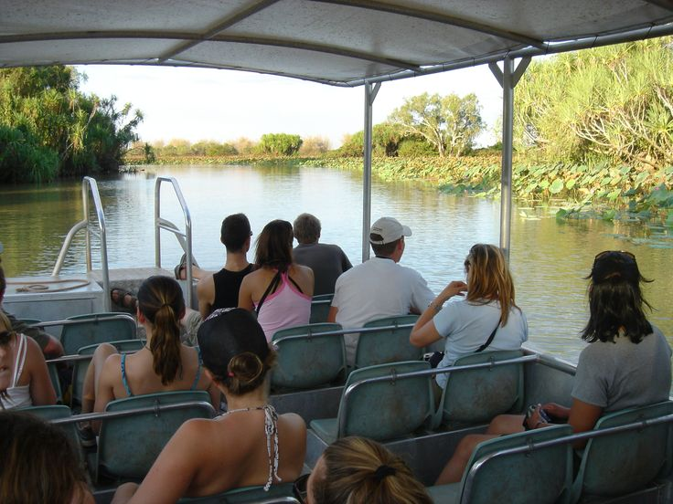 Next stop is the Mary River wetlands system, with the highest concentration of saltwater #crocodiles in the southern hemisphere.