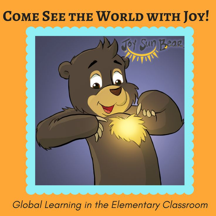 Joy Sun Bear wants to help create a world where children love and trust themselves, embrace diversity, and take action to take better care of our planet.