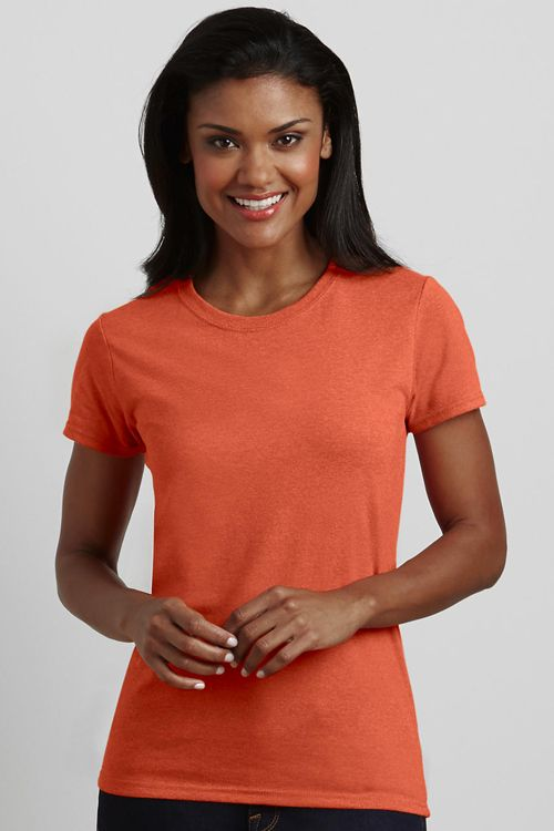 Tricou de damă Heavy Cotton™ Gildan   Logofashion Tricouri Gildan special concepute pentru personalizare prin print sau broderie #tricouripersonalizate #tricourigildan #tricouribrodate #tricouriimprimate