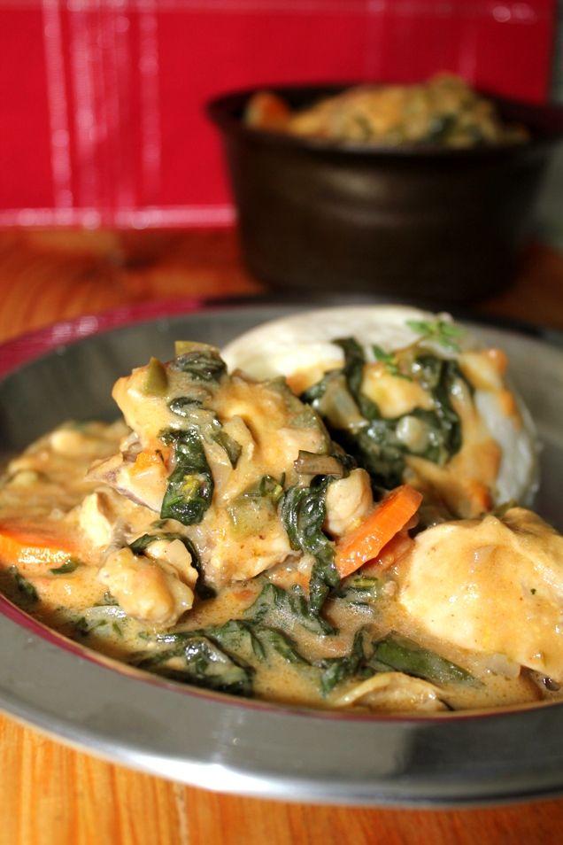 African, Zimbabwean Dovi (Chicken & Peanut Butter Stew)
