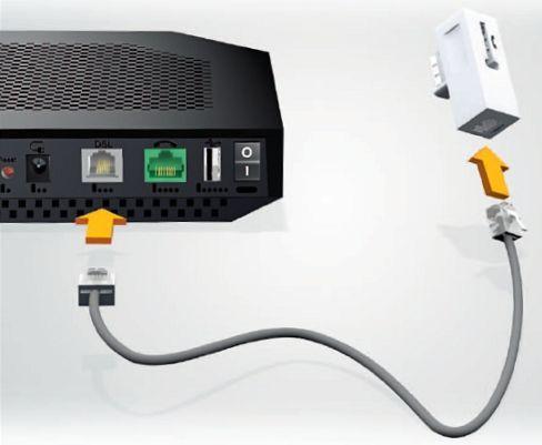 branchements ADSL Livebox Play en wifi