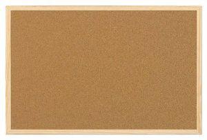 5 Etoiles Tableau en liège avec encadrement en pin 90 x 60cm