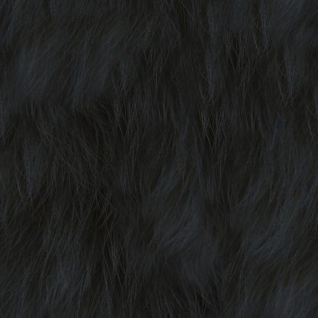 Black Faux Fur Seamless Background Texture Pattern Background Or Wallpaper Image | Free Backgrounds for Twitter, Blogger, or any web page