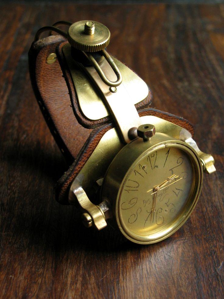 Archimedes steampunk watch by ~DasKabinettWatches on deviantART
