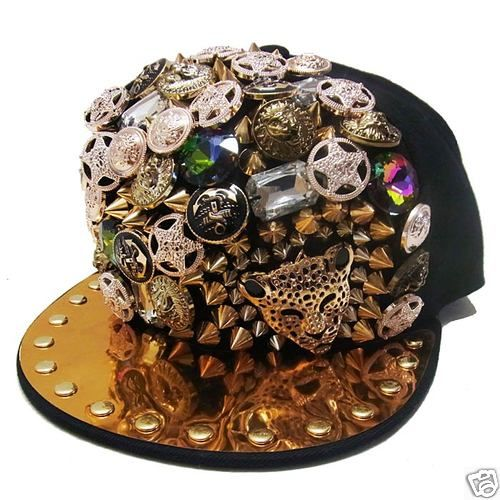 TOKYO RAVER SELECT Studded Bling Jewelry New Era Style Cap Tokyo Fashion