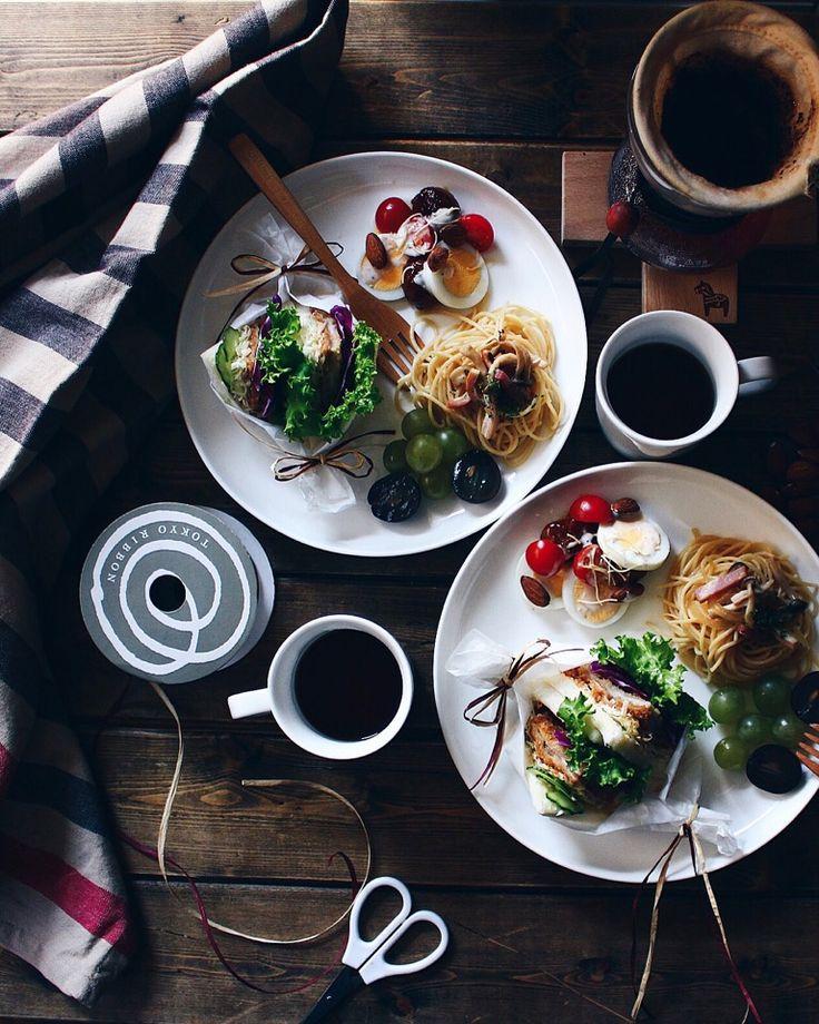 野崎智恵子's dish photo brunch   http://snapdish.co #SnapDish #朝ご飯 #お昼ご飯 #サンドイッチ