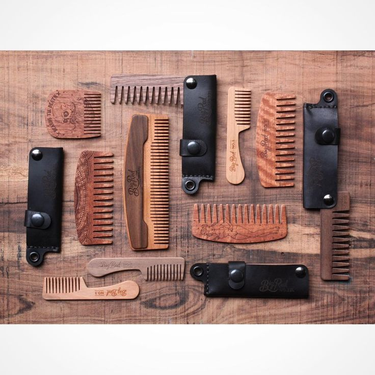 Chopping block has been stocked.  There's even a No.99 fine tooth hair comb in there.  These beauties are combs that didn't quite meet the flawless standard our firsts demand. Some have seems some have slight cosmetic issues but they are all perfectly working combs that we stand behind fully. Great combs at a great price. #bigredbeardcombs #beardcomb #pocketcomb #comb #beardcare #menstyle #mensstyle #gentleman #mensgrooming #girlswholovebeards #facialhair #beard #bearded #beardedmen…