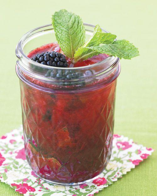 Blackberry Gin Fizz - Mmmm