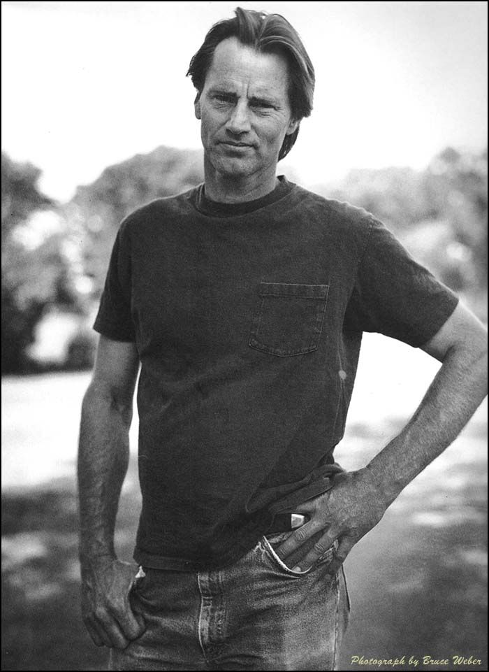 sam shepard. been madly in love with since i read Fool For Love forever ago.