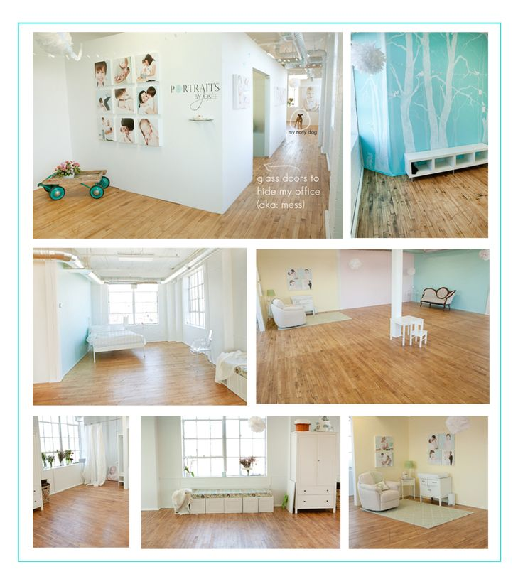 photo studio lol I need a place like this for the winter months. a girl can always  dream right ?