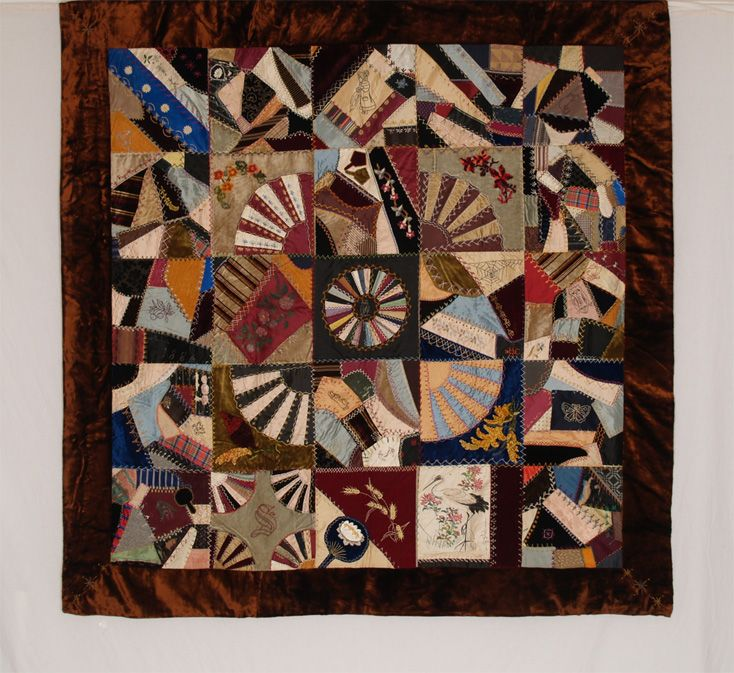 1493 best Quilts: Crazy Quilts images on Pinterest | Embroidery ... : crazy quilt definition - Adamdwight.com