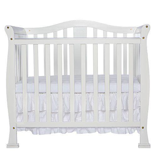 Dream On Me Addison 4 in 1 Convertible Mini Crib White