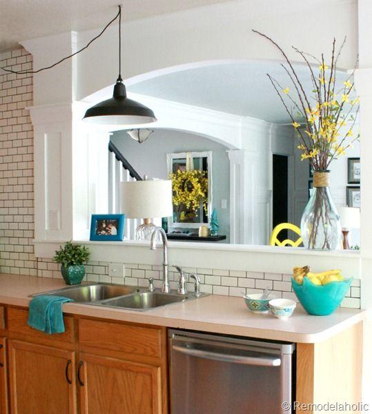 Oak Kitchen Cabinet Makeover: Final Kitchen Makeover Reveal