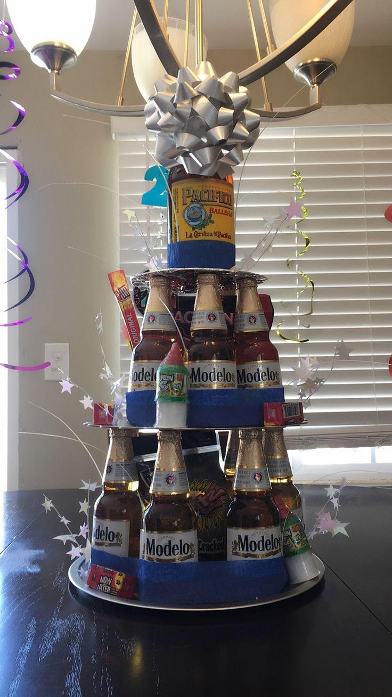 Beer Cake Modelo Beer Birthday Birthday Gifts For