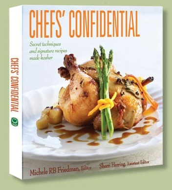 Chefs' Confidential: Chef Confidenti, Cookbook Class Etc, Renown Chef, Profess Chef, Kosherey Cookbook Pick, Koshereye Cookbook Pick