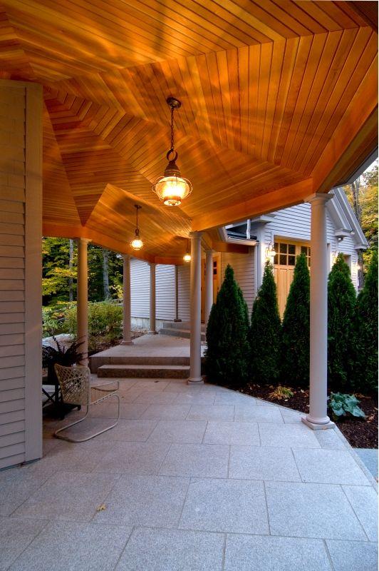 Covered Walkway Home and Garden Design Ideas Outdoor