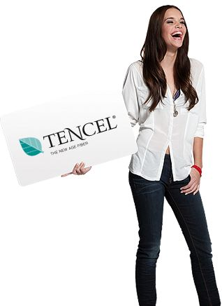 The production of TENCEL® is revolutionary. The production process is based on a solvent spinning process and represents the greatest accomplishment in cellulosic fiber technology. The unique closed loop production process makes TENCEL® the fiber of the future: eco-friendly and economical. -Phuong L.