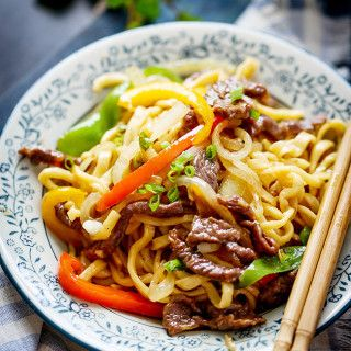 Beef Chow Mein – China Sichuan Food