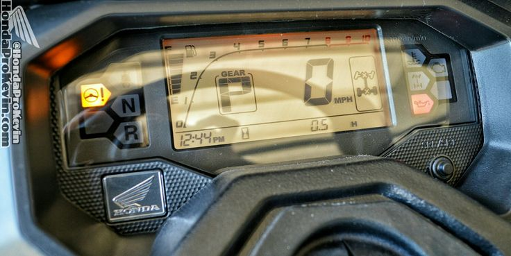Honda pioneer 1000 gauges top speed mph info features for Top speed of yamaha wolverine side by side
