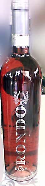 Name : Rondo  rose  2012     Style : dry rose wine., 13.5% alc., Grape: Merlot 100% Producer:  Jeremic winery,  http://www.vinarijajeremic.rs/ Area: Smederevo,  Beograd area , Central Serbia Price: 8-10 eur/ bottle 0.75l