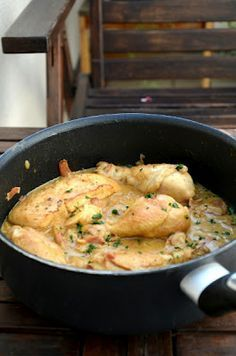 Mustáros csirke
