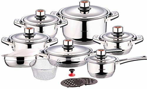 Food Network  Piece Ceramic Coated Non Stick Cookware Set