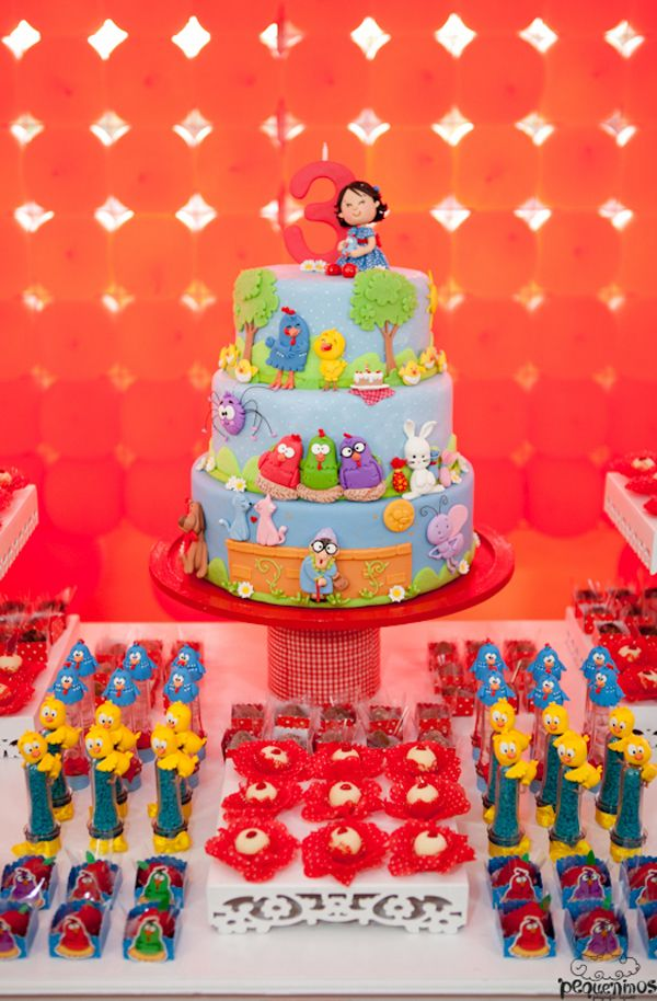 Festa Galinha Pintadinha Birthday Party Theme Kids Girl Fiesta