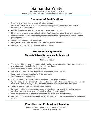 insurance underwriter resume best 25 medical assistant resume