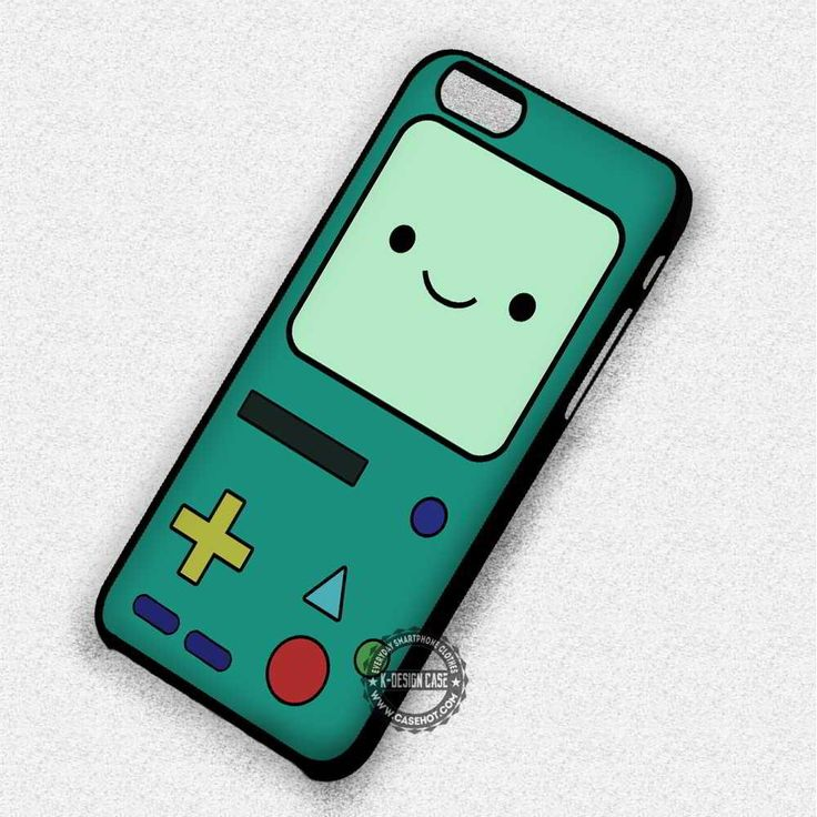 Cute Game Bot Adventure Time Beemo Face - iPhone 7 6S 5 5S SE Cases & Covers
