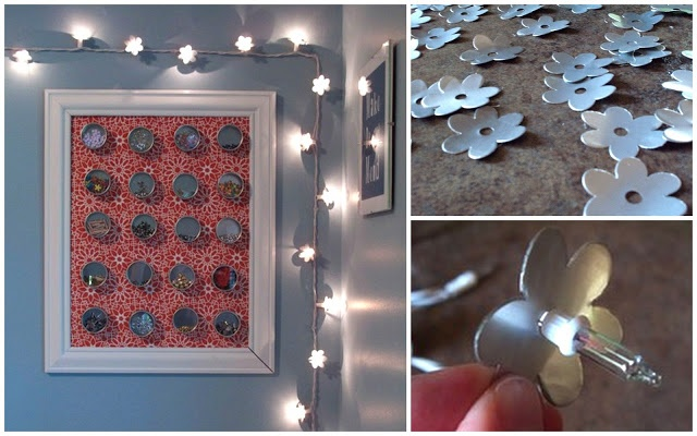 How To: Soda Can Flower Lights