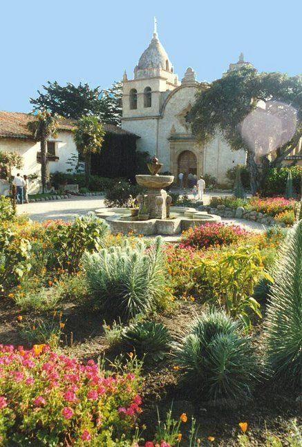 ~San Carlos Borromeo de Carmelo, the mission in Carmel-by-the-sea, California~