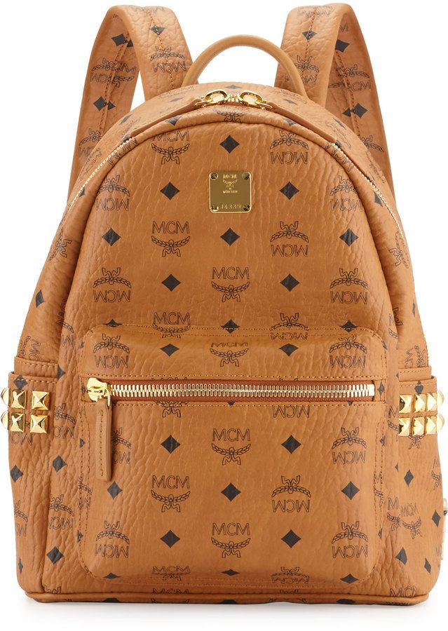 bc9c9cad09b MCM Stark Small Canvas Backpack