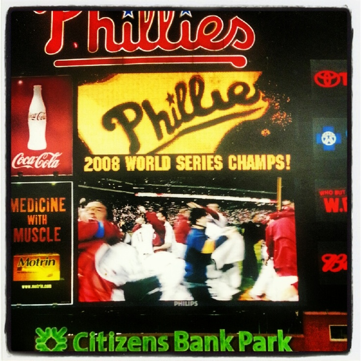 Best moment in the history of Citizens Bank Park on October 29, 2008.
