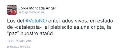 Vía @ModaPolitica  : La Trashumancia del Sí #VotoNO