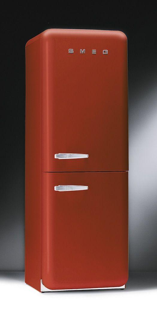 Smeg jaren 50 collectie - keuken ideeën | UW-keuken.nl #koelkast #rood