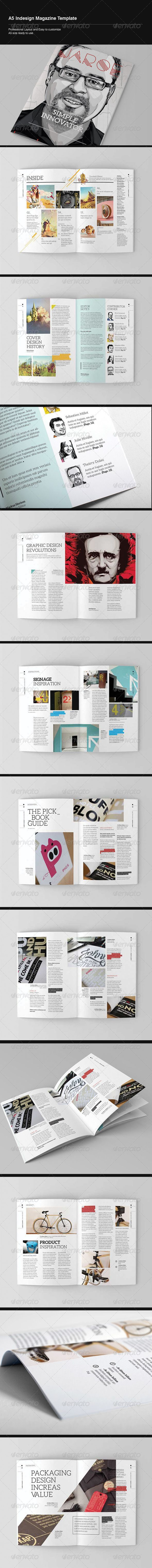 Best Download Template Magazine Indesign Images On