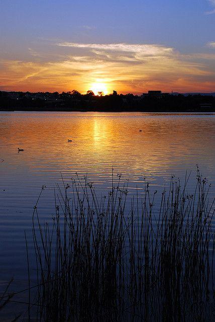 Canberra, Australia Sunset 2006-12-05 by ~Aquila~, via Flickr