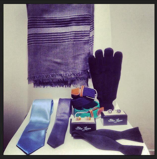scarf, bow-tie, tie, cufflinks