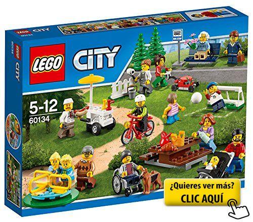LEGO City Town - Diversión en el parque, gente de... #lego