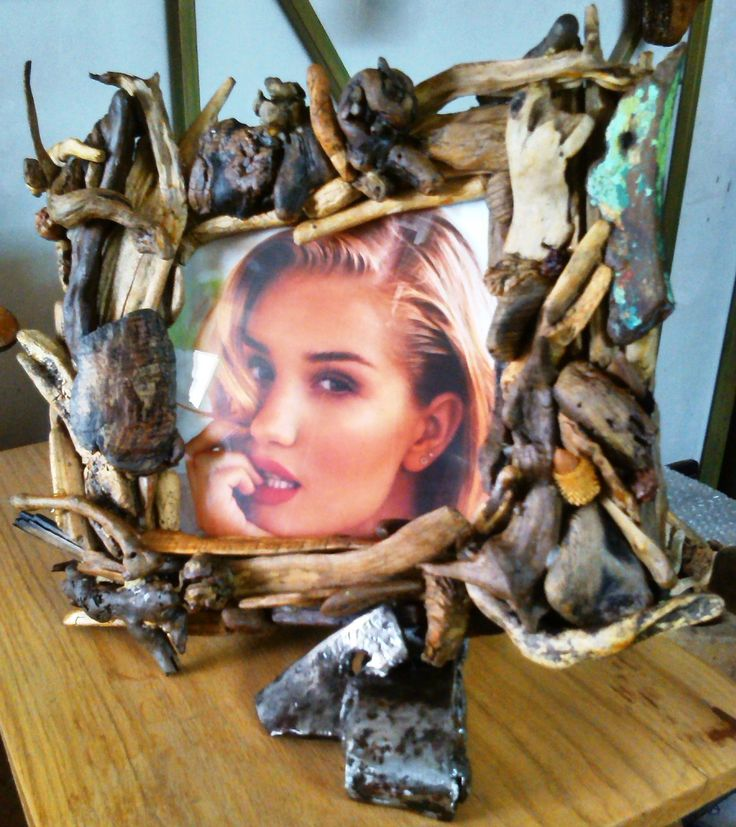Handmade picture frames by MsArt Sideropoulos Hank